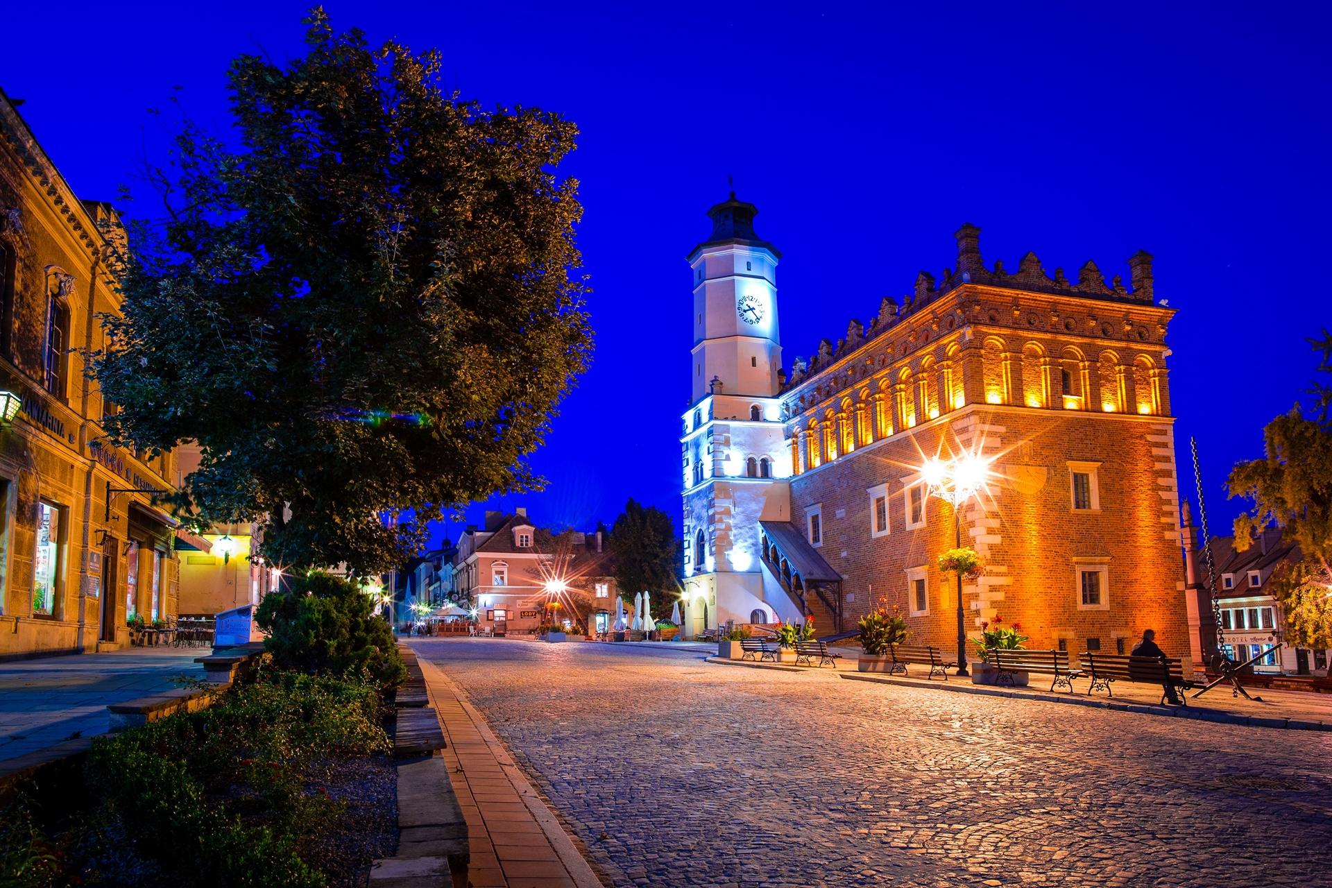 Nocne zwiedzanie miasta