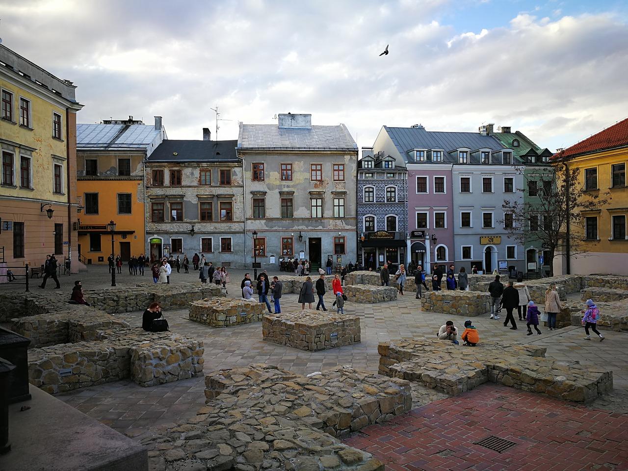 Lublin - Plac po Farze