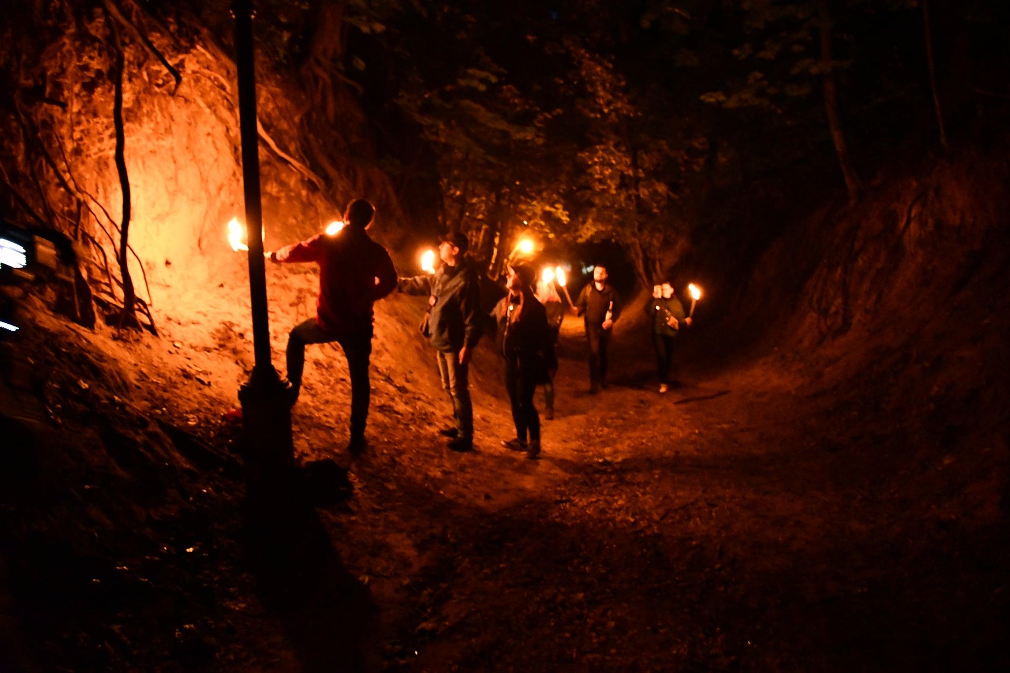 Nocne zwiedzanie Sandomierza